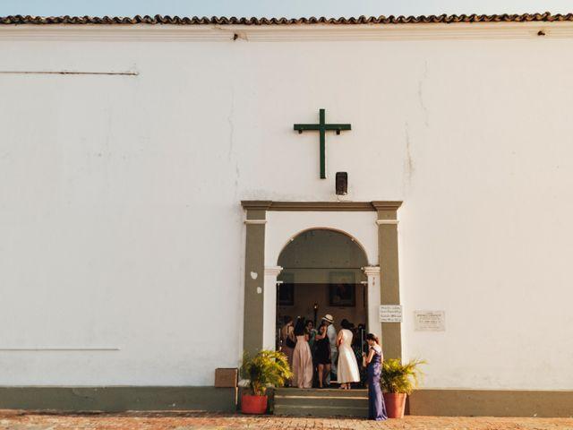 El matrimonio de Jorge y Camila en Cartagena, Bolívar 9