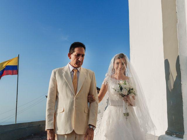 El matrimonio de Jorge y Camila en Cartagena, Bolívar 10