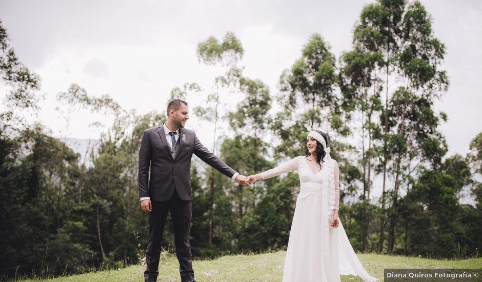 El matrimonio de Sebastian y Diana en Envigado, Antioquia