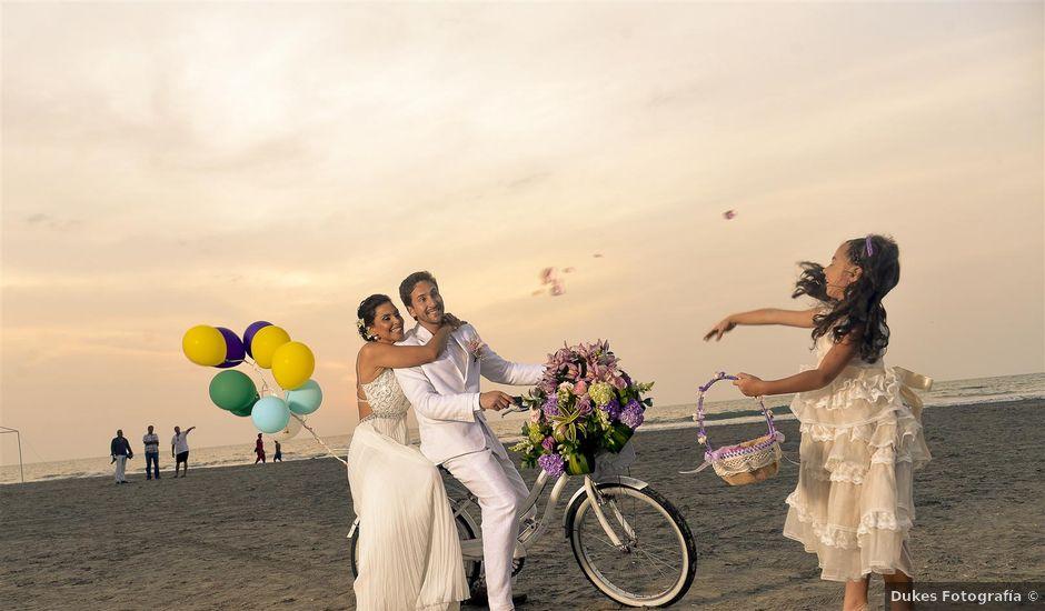 El matrimonio de Germán y Claudia en Cartagena, Bolívar