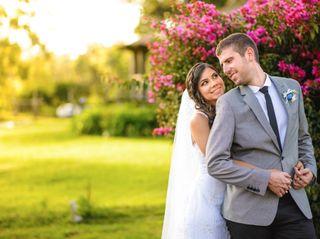 El matrimonio de Johana y Federico