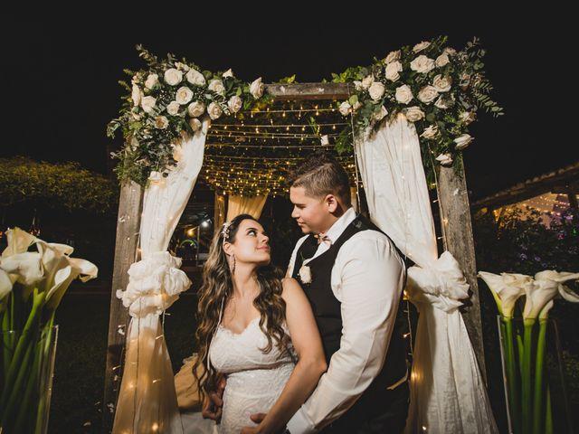 El matrimonio de Karen y Andrew