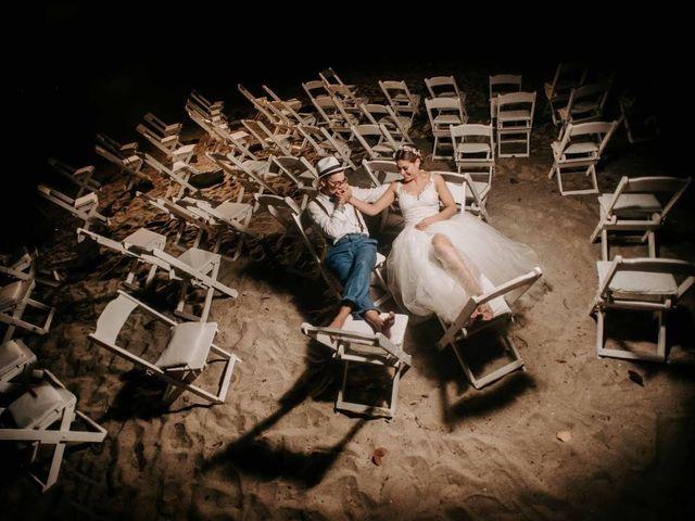 El matrimonio de Alejandro y Angelica en Dibulla, La Guajira 1