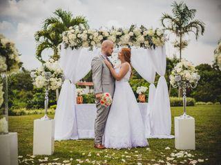 El matrimonio de Rosa y Felipe