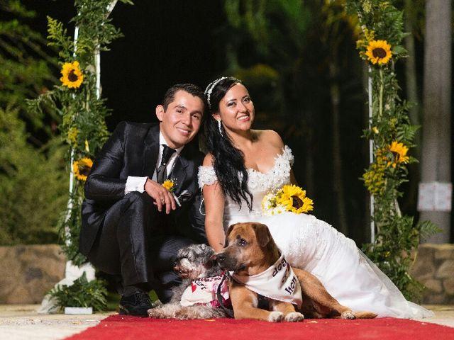 El matrimonio de Cristian y Carolina en La Vega, Cundinamarca 1