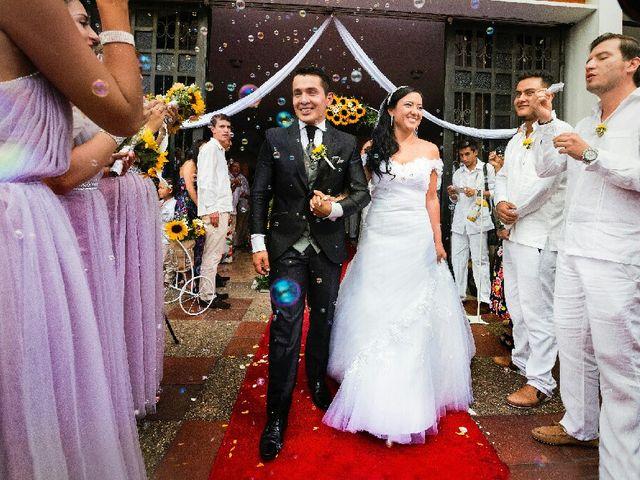 El matrimonio de Cristian y Carolina en La Vega, Cundinamarca 9