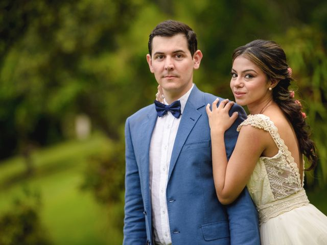 El matrimonio de Manuela y Martín