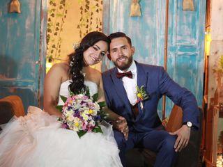 El matrimonio de Juli y Chalo