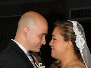 El matrimonio de Gretchen y Christian