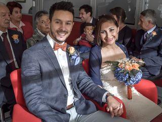 El matrimonio de María Camila y Andrés