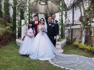 El matrimonio de Zulma y Zhu Xun