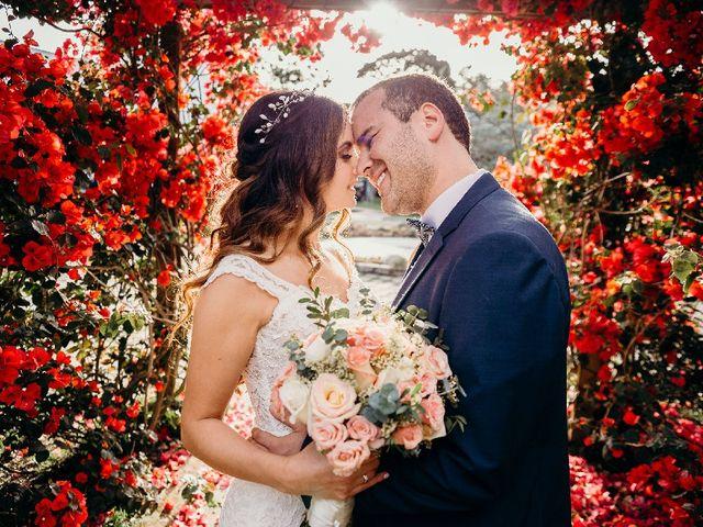 El matrimonio de Catalina y Agustín