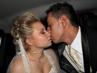 El matrimonio de Kellyn y Oscar