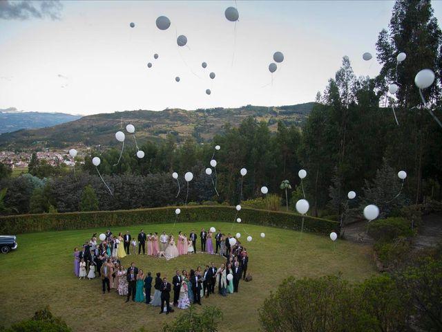 El matrimonio de Gustavo Andrés y Paola Andrea en Tibasosa, Boyacá 2