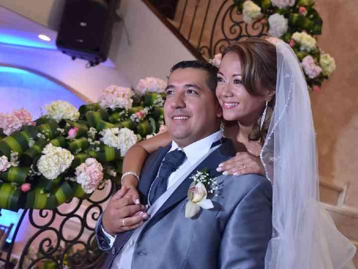 El matrimonio de Angélica  y Dario