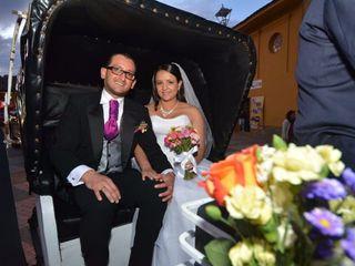 El matrimonio de Natalia y Oscar