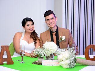 El matrimonio de Cristian y Anny Lorena