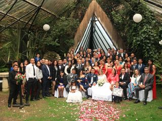 El matrimonio de Marjelly Andrea  y Julio Stiven  2