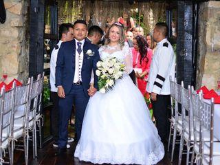 El matrimonio de Marjelly Andrea  y Julio Stiven