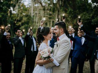El matrimonio de Maria Fernanda y Christian