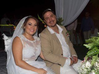 El matrimonio de Angie   y John