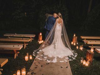 El matrimonio de Mariana y Santiago
