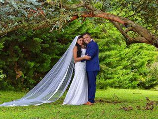El matrimonio de Jennifer  y Robinson