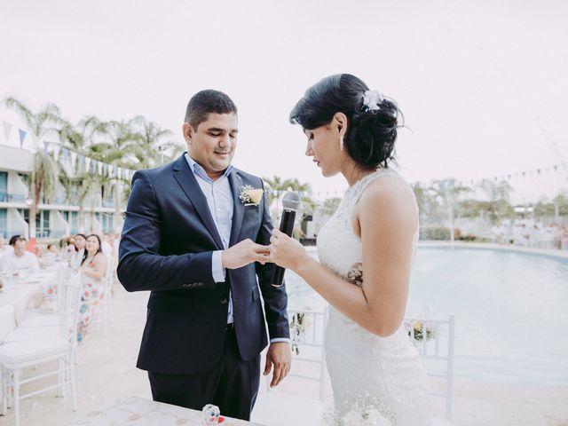 El matrimonio de Carolina y Luis