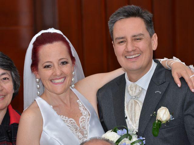 El matrimonio de Sandra y Nicolás