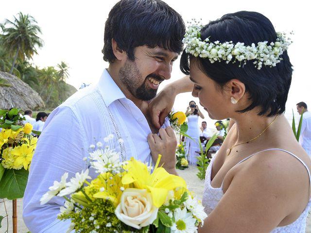 El matrimonio de Jonattan y Liliana en Santa Marta, Magdalena 19