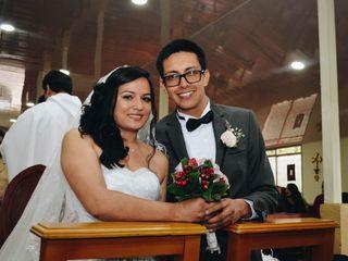 El matrimonio de Ana Moreno  y Oscar Jaime