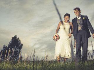 El matrimonio de Claudia y Esteban