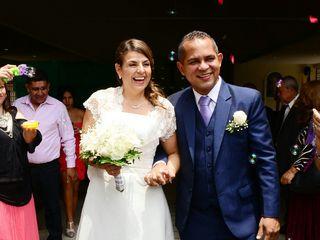 El matrimonio de Gloria Inés  y Evelio  2