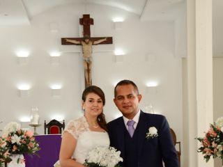 El matrimonio de Gloria Inés  y Evelio
