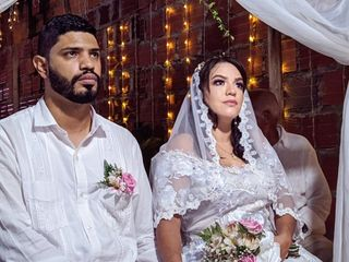 El matrimonio de Miryam y Iván