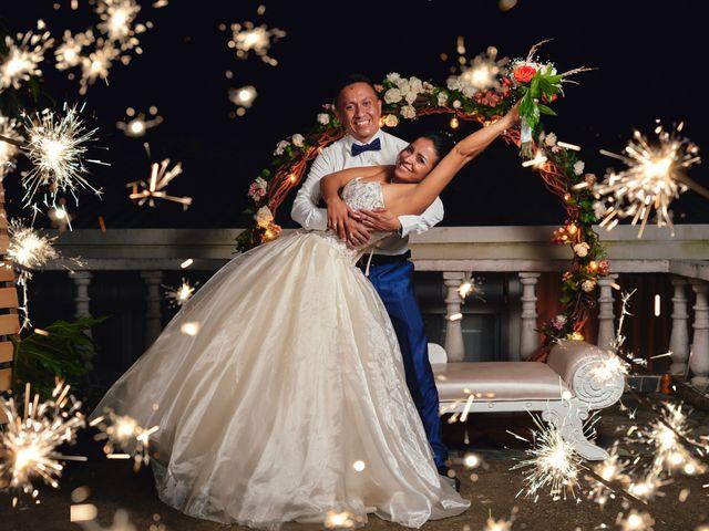 El matrimonio de Rafael y Sandra