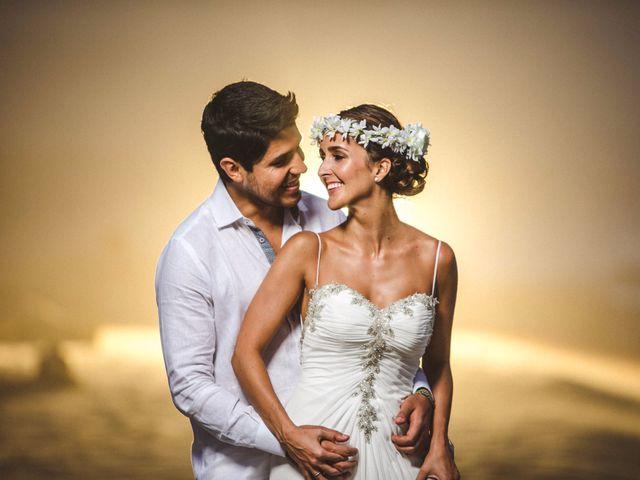 El matrimonio de Malu y Pacho