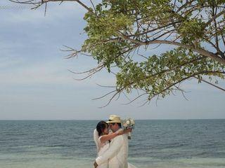 El matrimonio de Vanessa y Gabriel 1