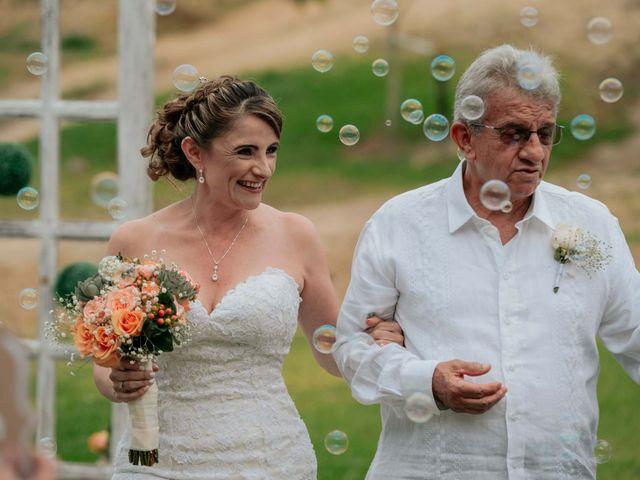 El matrimonio de Antonio y Carolina en La Tebaida, Quindío 43