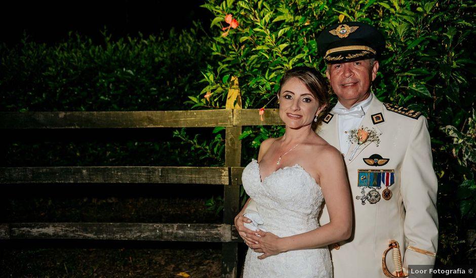 El matrimonio de Antonio y Carolina en La Tebaida, Quindío