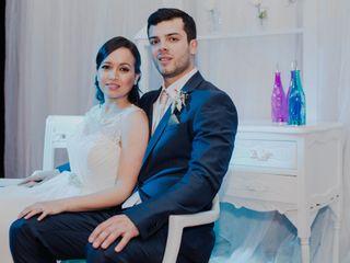 El matrimonio de Lina y Antonio