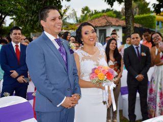 El matrimonio de Marcela y Bernely
