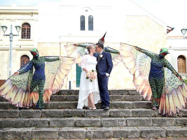 El matrimonio de Fredy y Johanna en Bogotá, Bogotá DC 16