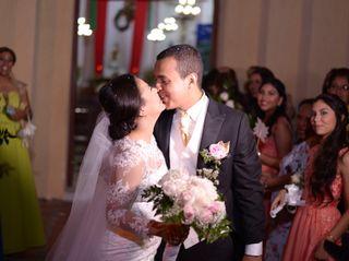 El matrimonio de Candy y Ahmed 1