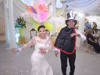 El matrimonio de Candy y Ahmed
