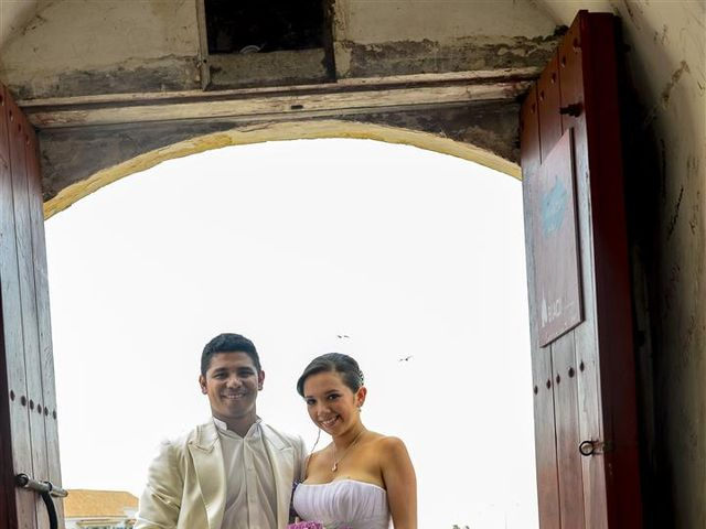 El matrimonio de Jhon y Loly en Cartagena, Bolívar 14
