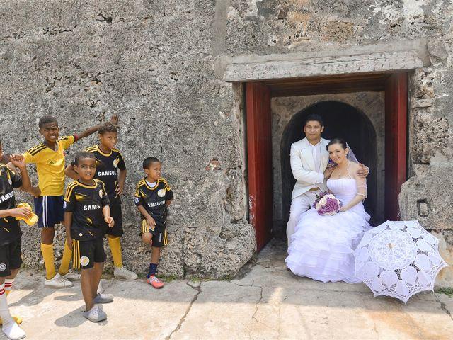 El matrimonio de Jhon y Loly en Cartagena, Bolívar 15
