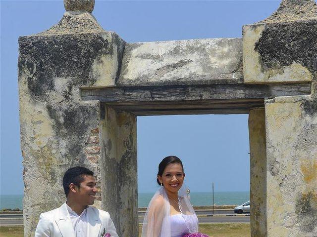 El matrimonio de Jhon y Loly en Cartagena, Bolívar 16