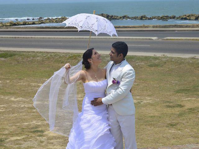 El matrimonio de Jhon y Loly en Cartagena, Bolívar 17