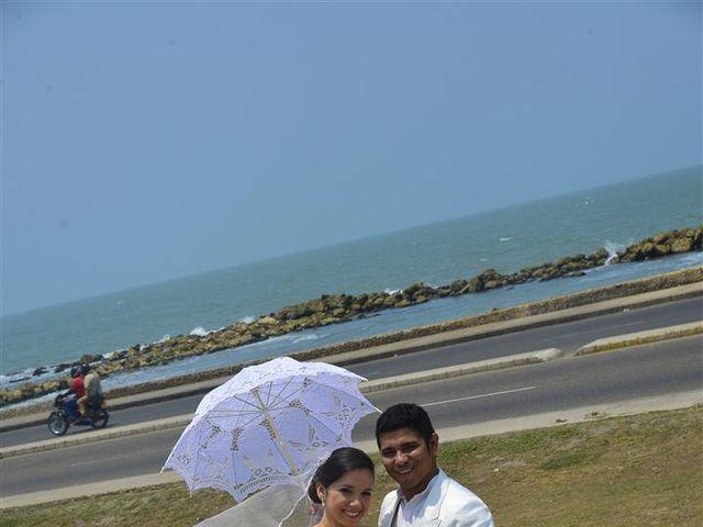 El matrimonio de Jhon y Loly en Cartagena, Bolívar 18